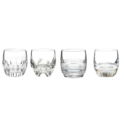 Waterford Mixology Clear Large Old Fashioned Tumblers - Set of 4
