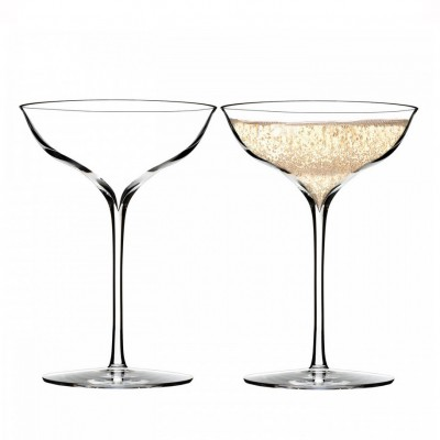 Waterford Elegance Belle Coupe Champagne Glasses - Set of 2