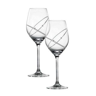 Royal Doulton Promises With This Ring Wine Glasses - Set of 2