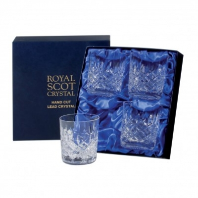 Royal Scot London Whisky Tumblers Small - Set of 4