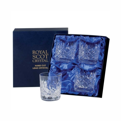 Royal Scot London Large Old Fashioned Tumblers - Set of 4