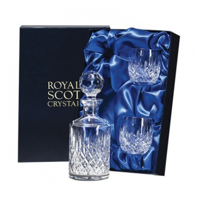Royal Scot London Single Malt Decanter and Whiskies Set