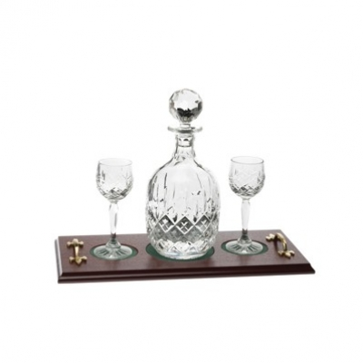 Royal Scot London Port Decanter Set on Tray