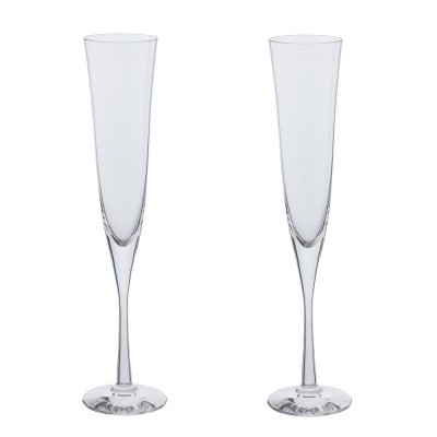 Dartington Bar Excellence Celebration Flute Glasses - Set of 2