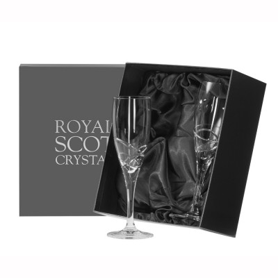 Royal Scot Skye Champagne Flutes - Set of 2
