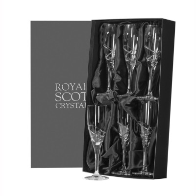 Royal Scot Skye Champagne Flutes - Set of 6