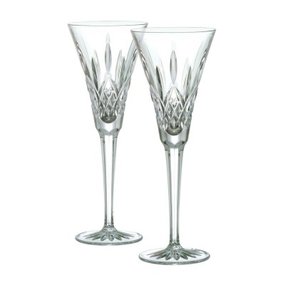 Waterford Lismore Toasting Flutes - Set of 2