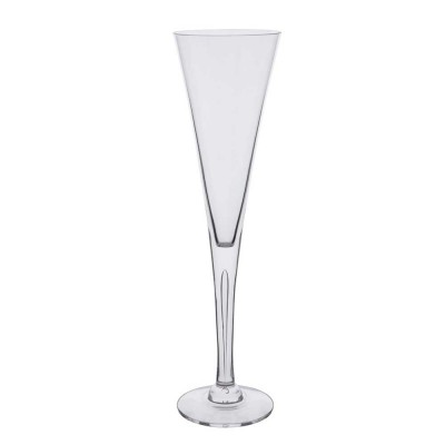 Dartington Sharon Tall Celebration Flute Champagne Glasses - Set of 2