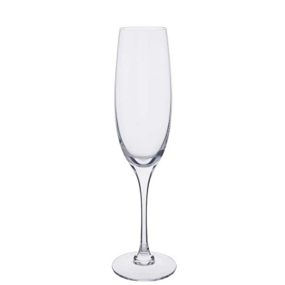 Dartington Chateauneuf Flute Champagne Glasses - Set of 2