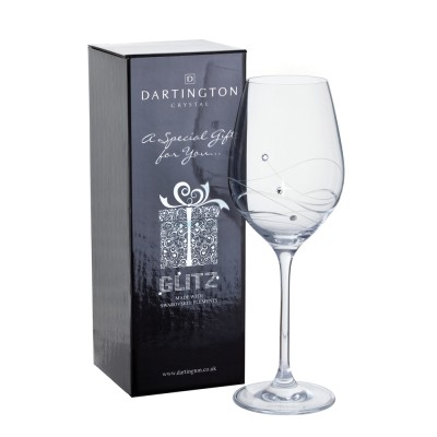Dartington Glitz Wine Glass