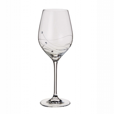 Dartington Glitz Wine Glasses - Set of 2