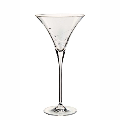 Dartington Glitz Martini Cocktail Glasses - Set of 2