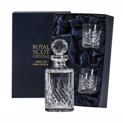Royal Scot Edinburgh Whisky Decanter Set