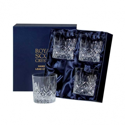 Royal Scot Edinburgh Whisky Tumblers - Set of 4