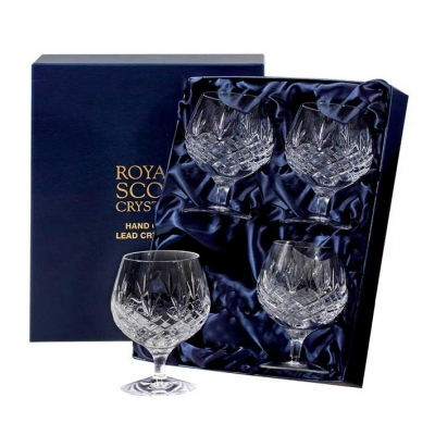 Royal Scot Edinburgh Brandy Glasses - Set of 4