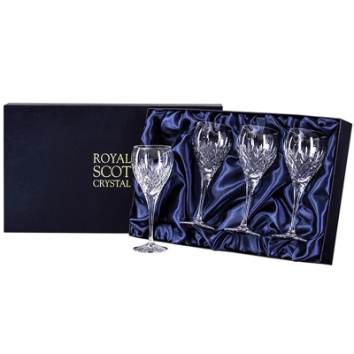 Royal Scot Edinburgh Small Wine Glasses - Set of 4