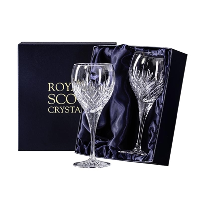 Royal Scot Edinburgh Large Wine Glasses - Set of 2