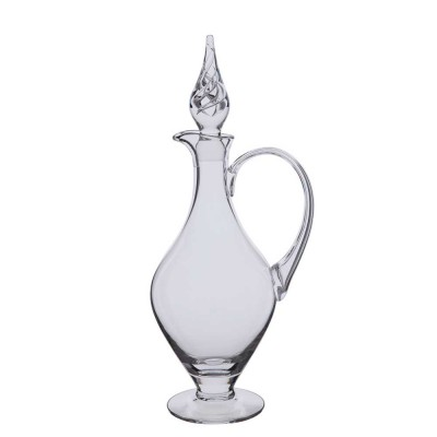 Dartington Handled Claret Decanter