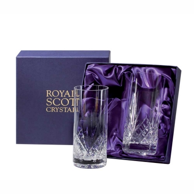 Royal Scot Highland Highball Tumblers - Set of 2