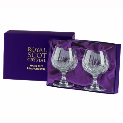 Royal Scot Highland Brandy Glasses - Set of 2