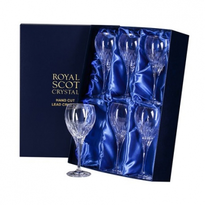 Royal Scot Sapphire Large Wine Glasses - Set of 6