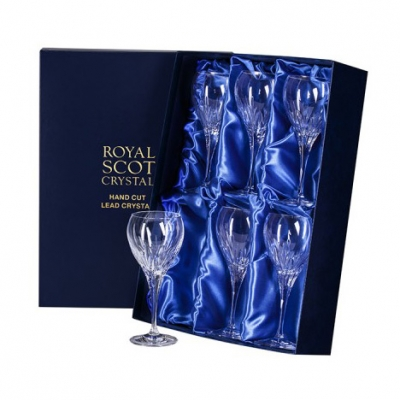 Royal Scot Sapphire Small Wine Glasses - Set of 6