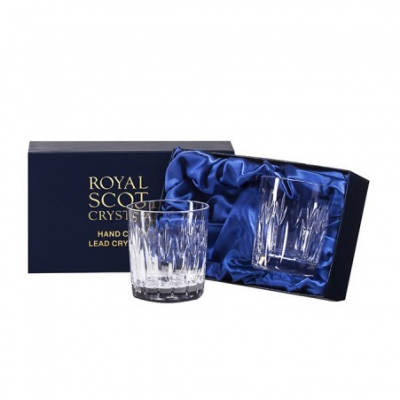 Royal Scot Sapphire Small Whisky Tumblers - Set of 2