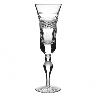 Cumbria Crystal Grasmere Tall Champagne Glass