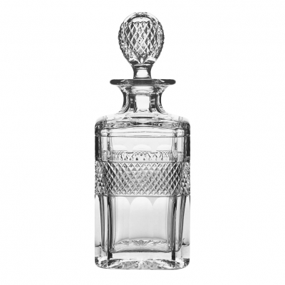 Cumbria Crystal Grasmere Square Spirit Decanter