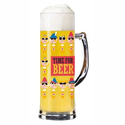 Ritzenhoff Seidel Beer Glass Julien Chung (Time for Beer) 2014