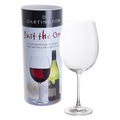 Dartington Bar Essentials Very Large Full Bottle Glass
