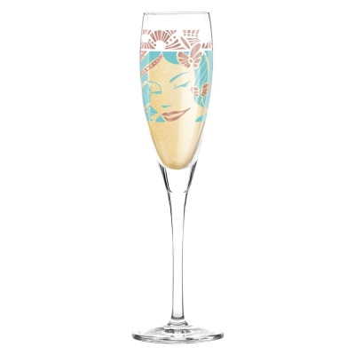 Ritzenhoff Pearls Prosecco Champagne Glass Virginia Romo Bella 2015