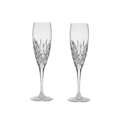 Royal Scot Sandringham Flute Champagne Glasses - Set of 2