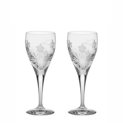 Royal Scot Catherine Port and Sherry Glasses - Set of 2