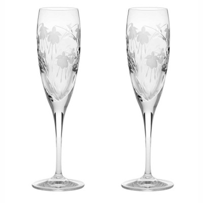 Royal Scot Catherine Flute Champagne Glasses - Set of 2