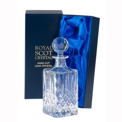 Royal Scot London Square Spirit Decanter
