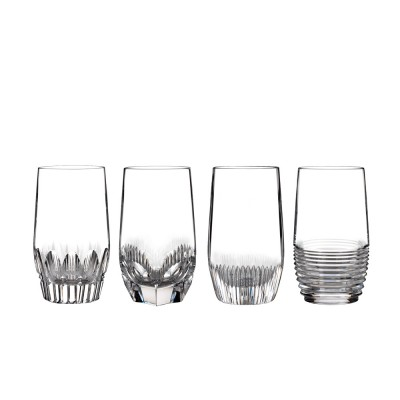 Waterford Mixology Clear Highball Tumblers - Set of 4