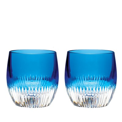 Waterford Mixology Argon Blue Tumblers  - Set of 2