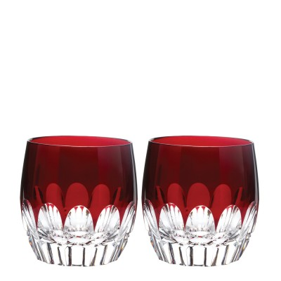 Waterford Mixology Echo Red Tumblers - Set of 2