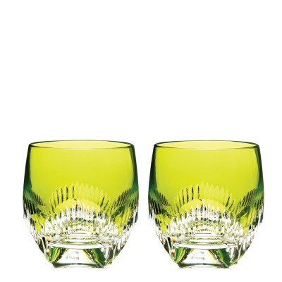 Waterford Mixology Neon Lime Green Tumblers - Set of 2