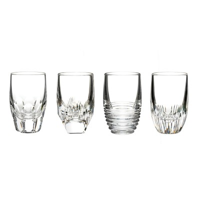 Waterford Mixology Clear Shot Glasses - Set of 4
