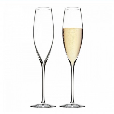 Waterford Elegance Classic Flute Champagne Glasses - Set of 2