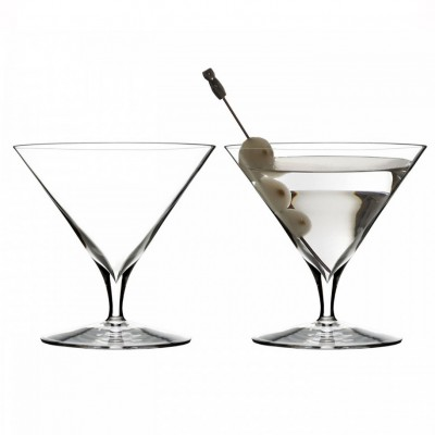 Waterford Elegance Martini Cocktail Glasses - Set of 2