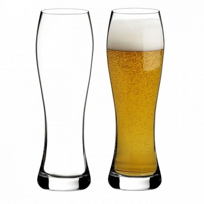 Waterford Elegance Pilsner Lager Glasses - Set of 2