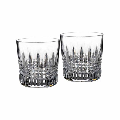 Waterford Lismore Diamond Old Fashioned Tumblers - Set of 2