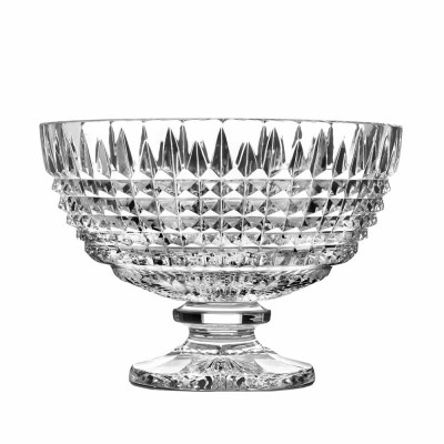 Waterford Lismore Diamond Footed Centrepiece Bowl