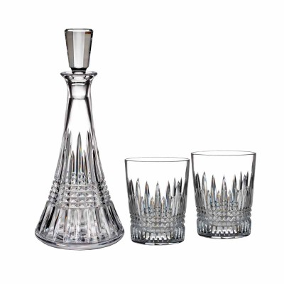 Waterford Lismore Diamond Decanter and Tumbler Gift Set