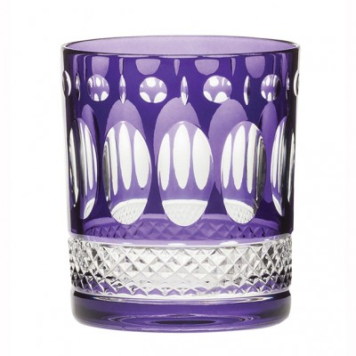 Royal Scot Belgravia  Amethyst Purple Large Tumblers - Set of 2