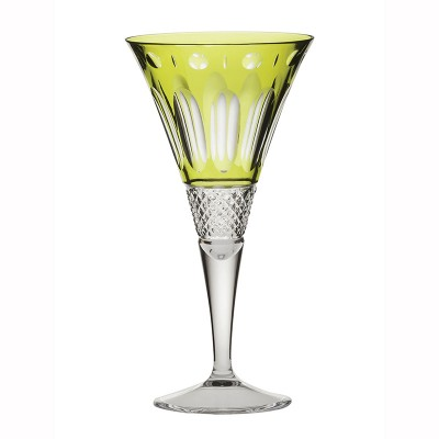 Royal Scot Belgravia Lime Green Large Wine Glasses  - Set of 2