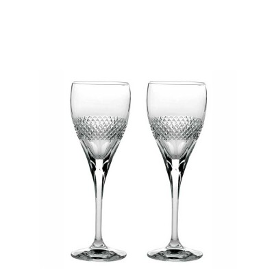 Royal Scot Diamonds Port or Sherry Glasses - Set of 2